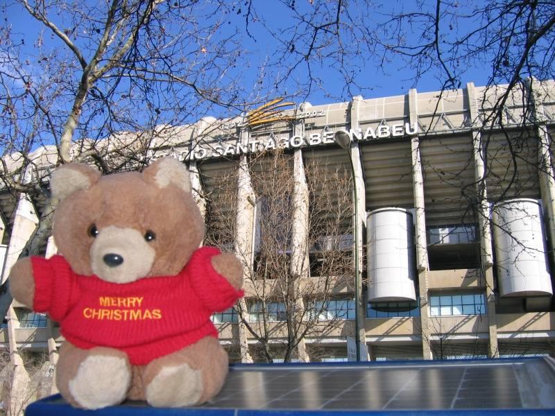 Hannawa au stade Bernabeu