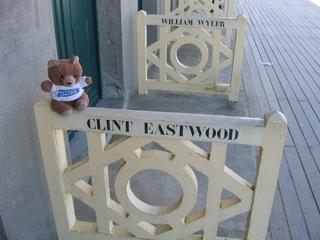 Hannawa et Clint Eastwood