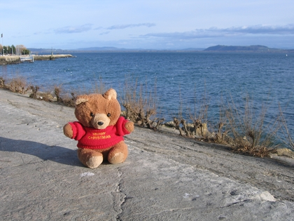 Hannawa et le lac de Neuchatel