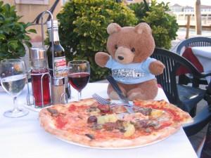 Hannawa et sa pizza