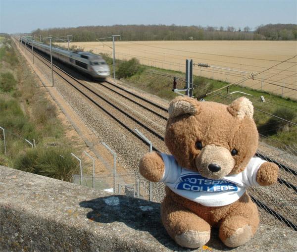 Hannawa et le TGV
