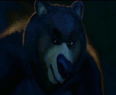 Un ours méchant