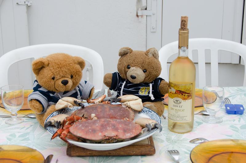 Hannawa en pince pour les crabes